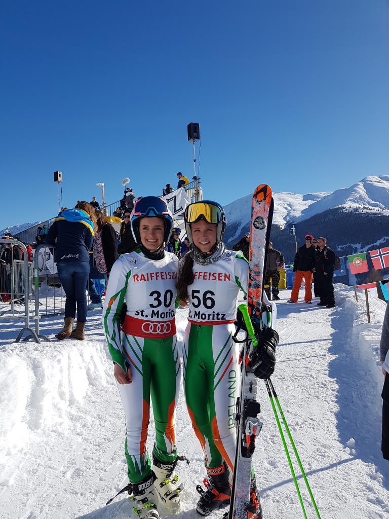 Girls Team Ireland St Moritz 2017