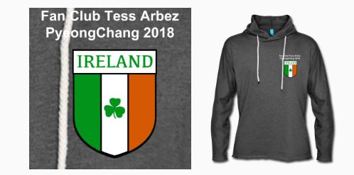 Hoodie Ireland Fan Club Tess Arbez