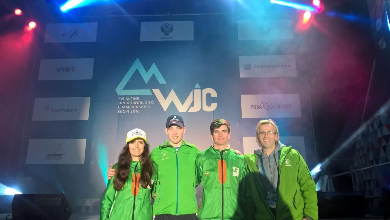 Sotchi 2016 - Alpine World Junior Championship - Team IRL