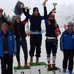 Second in Slalom St Gervais 2018