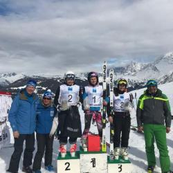 Third place GS St Gervais 2018
