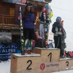Val-Thorens - Podium in SL - FIS - April 2015