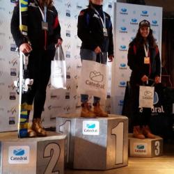 Podium 3rd place SL U21 NC at Cerro Catedral Argentina - 2017