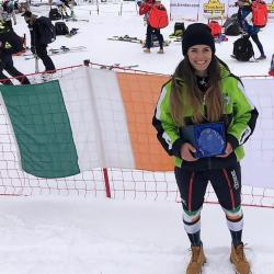 Inaugural National Ski Championships Winner GS and SL