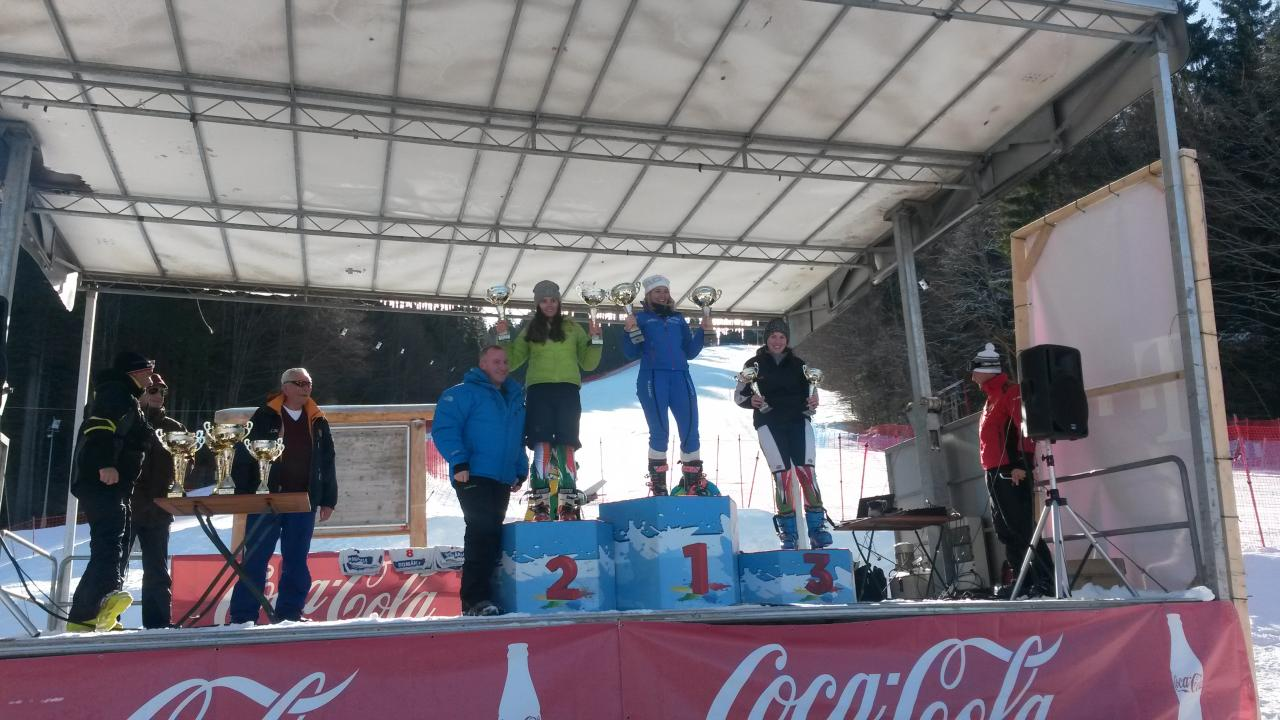 Podium SES Cup Romania 2015 - 2nd place in SL
