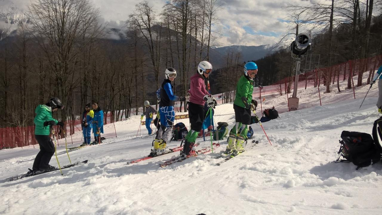 Sochi 2016 - GS Training - Team IRL