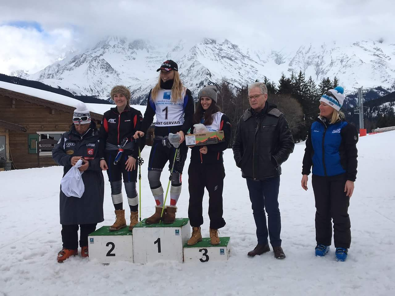 Third place in Slalom St Gervais 2018